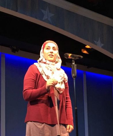 Student Spotlight: Poet Shahad Almaharmeh Commands the POL Regional Stage