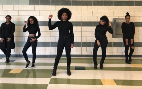 The girls pose in a powerful stance for a legendary #BHM picture