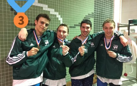 Swimmers Race to Regionals