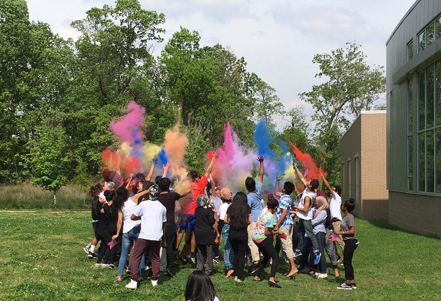 Asian Club Celebrates Spring with the Holi Festival