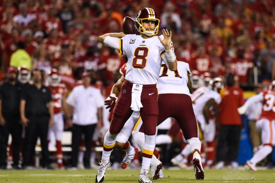 Kirk Cousins leads the Redskins against the Kansas City Chiefs