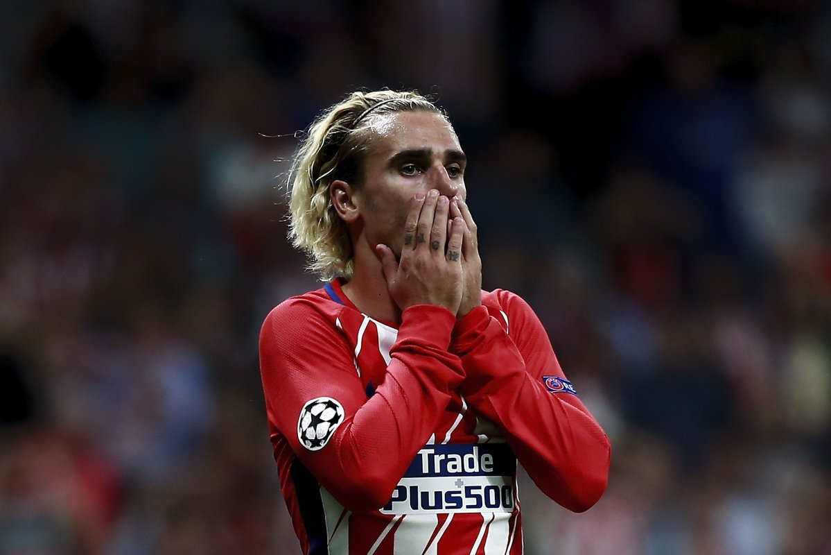 Griezmann+during+the+Chelsea+V+Atletico+game.