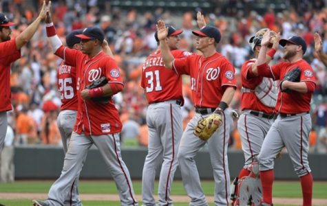 The Nationals on their winning streak in July.
