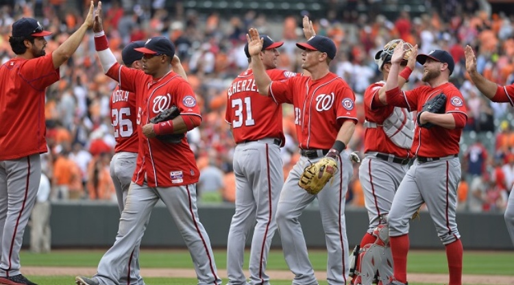The+Nationals+on+their+winning+streak+in+July.