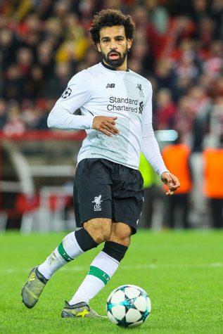 Mohamed Salah for Liverpool.