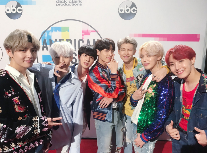 Celebrities%27+Reaction+to+BTS%27+AMAS+Performance