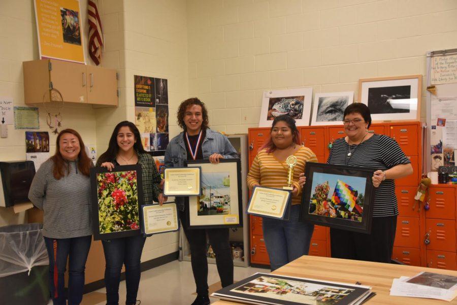 The+winners+got+their+art+work+framed+and+a+certificate.