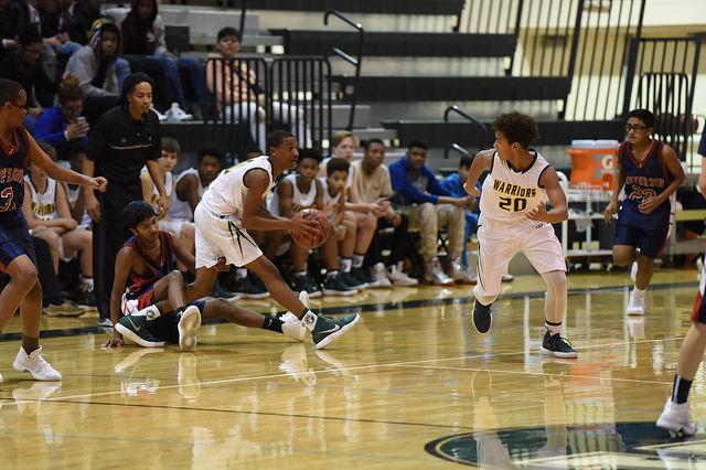Boys+Freshman+Basketball+Achieves+Perfect+Season