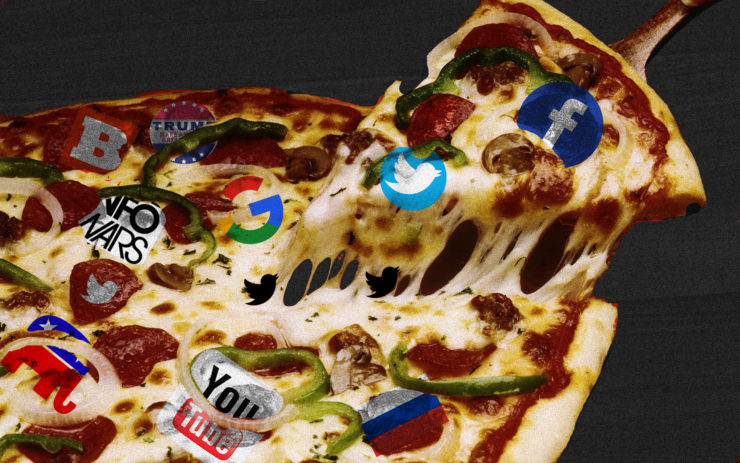 Pizza gate wasn't funny. It changed the course of an election. Fake news is that powerful.