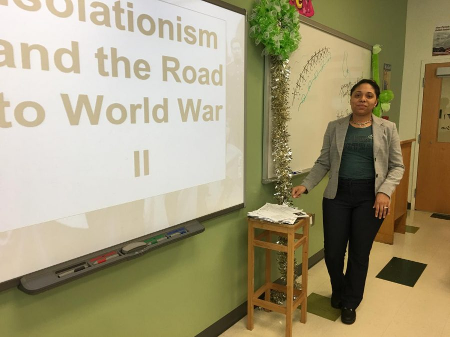 Ms. Waters Brings African American Studies to Wakefield
