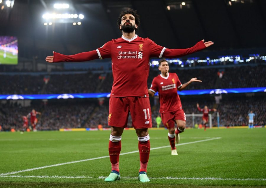 Mohamed Salah causing havoc in the Champions League!