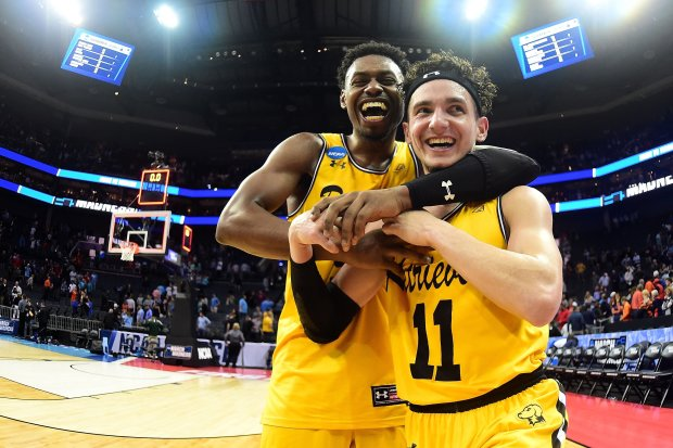 UMBC had plenty to be happy about after toppling #1 Virginia.