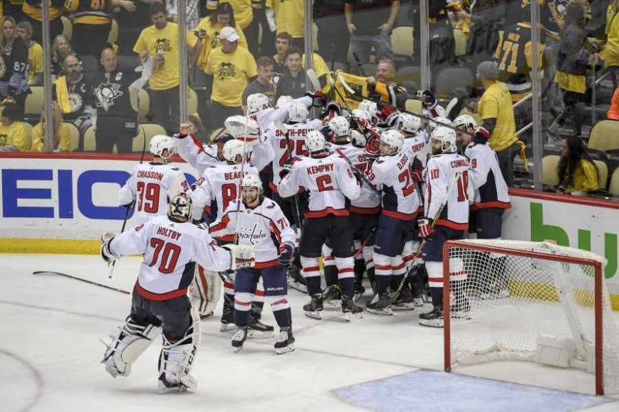 Caps+celebrate+big+win+over+Penguins%21++Photo+found+at+SFGate.com