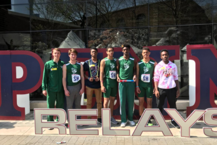 Boys Track Stars Go to Penn Relays and Keep Running the Show