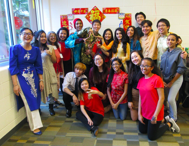 A picture from the Lunar New Year celebration in February.