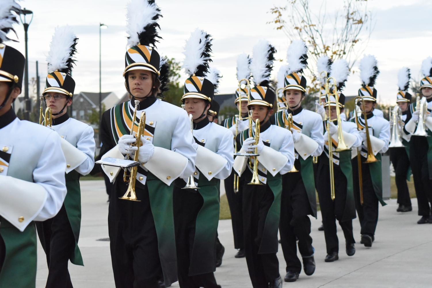 The band preforming last year back in October.