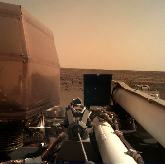 NASA's InSight Gives Insightful View of Mars and Possible Glimpse at Earth's Early History