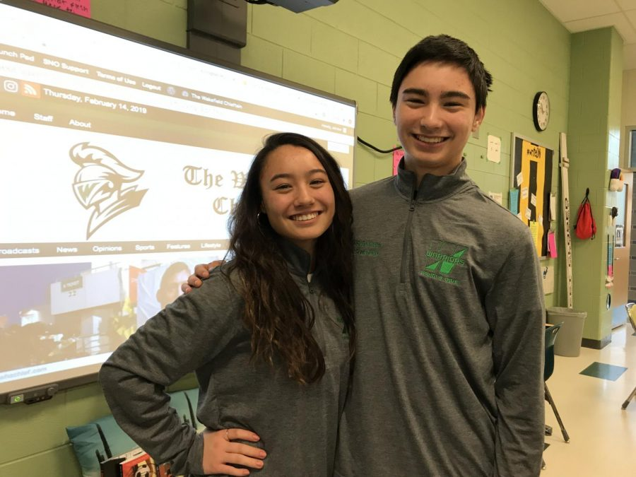 Wakefield Swim and Dive: Siblings Splash into States