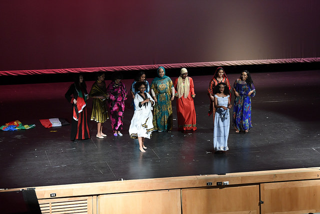 An+image+from+last+year%27s+Heritage+Assembly.+The+African+Dance+group+were+very+popular+with+the+crowd.