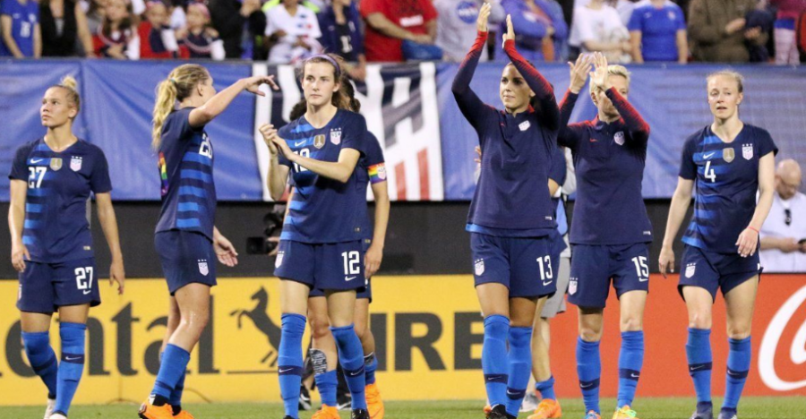 US+Women%27s+Soccer+Fights+for+Equality