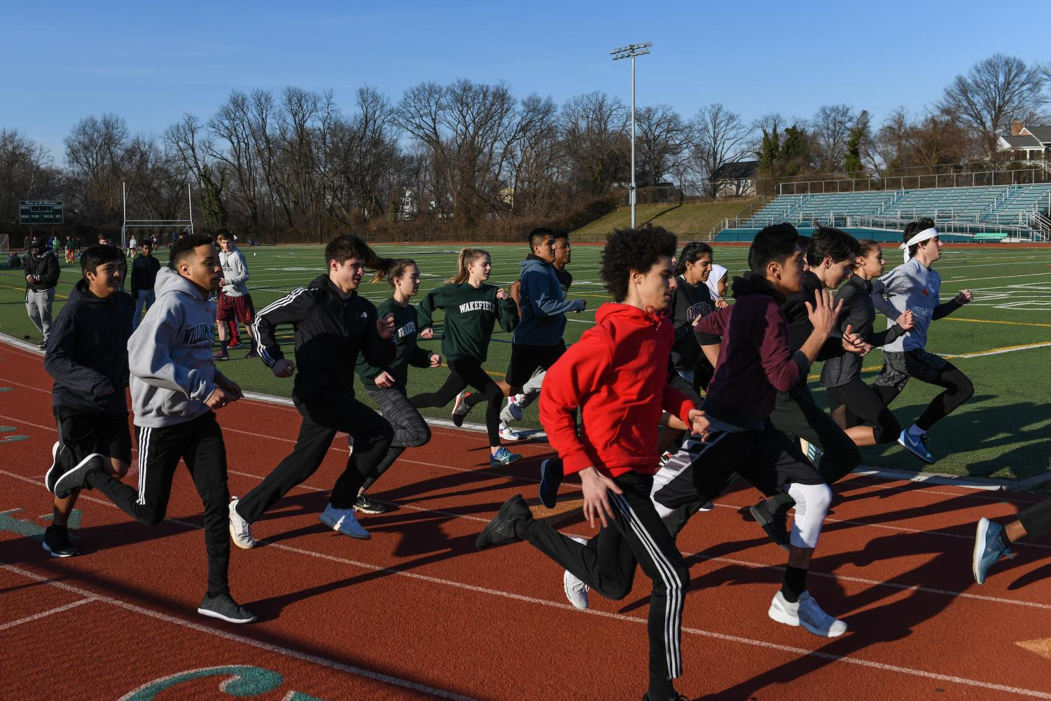 Track and Field Run the Show