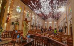 Tragedy in Sri Lanka