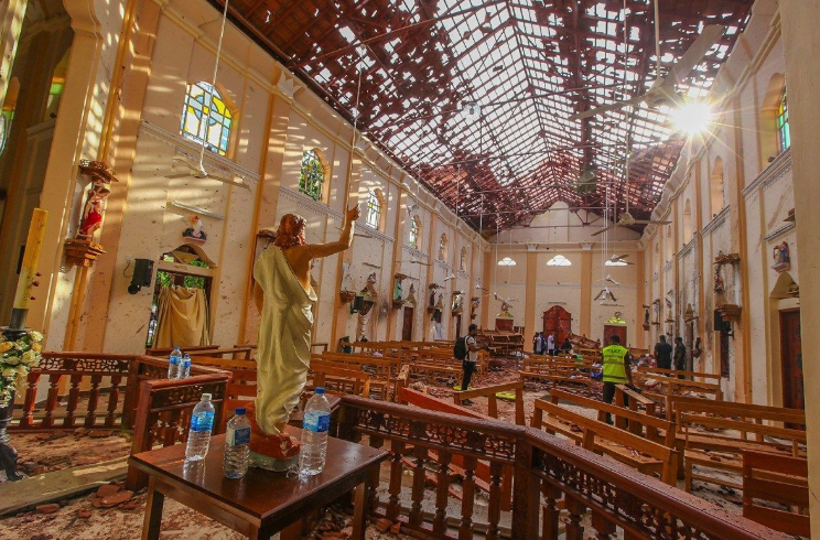 Tragedy in Sri Lanka