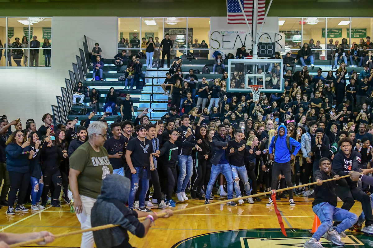 Stay engaged and have FUN at school activities like the fall pep rally!