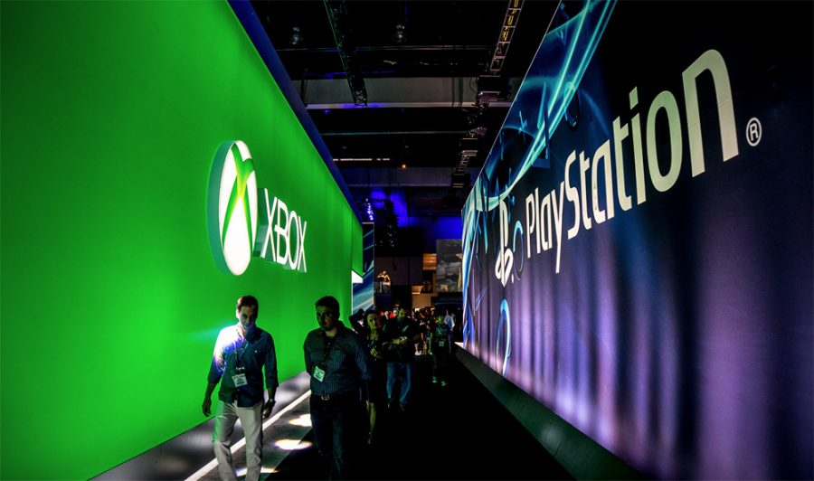 Xbox-PlayStation+hallway+at+E3+2016.