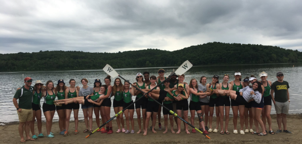 Picture of all the members of Crew who competed at Nationals on May 24th. Wow!
