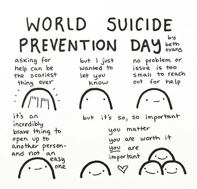 Suicide Prevention Week: You Are Not Alone
