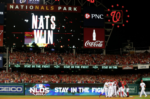 Nationals Go Wild in Playoffs: Tonight is the Night