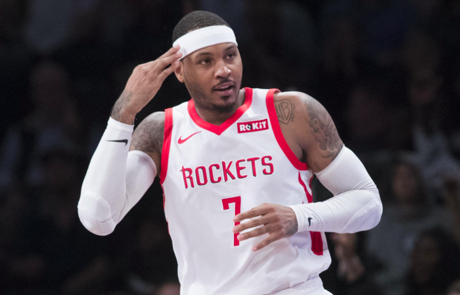 Carmelo Anthony is Back!