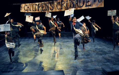 Read all about it. Newsies is on stage until the end of the month.