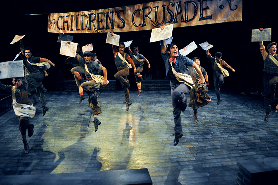Read+all+about+it.+Newsies+is+on+stage+until+the+end+of+the+month.