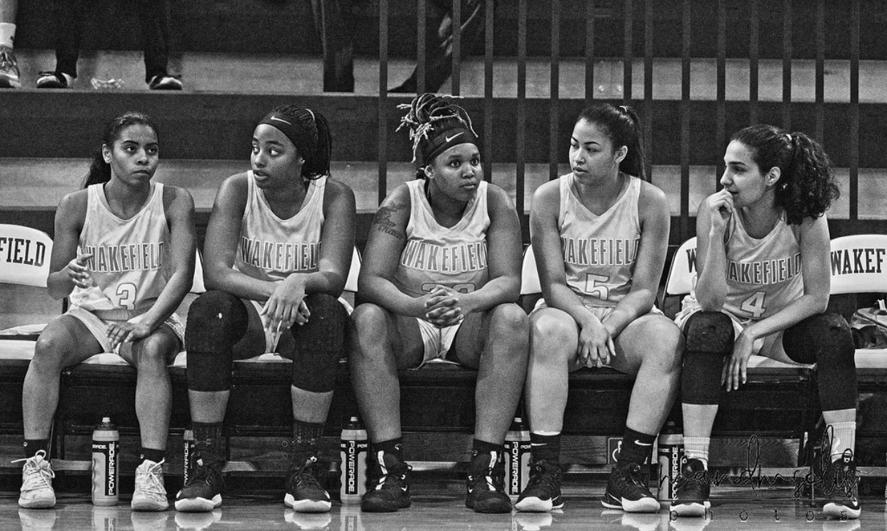 Our ladies on Senior Night Photo by Ms. Solis