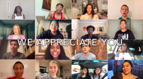 Thank You Message from Students for Teacher Appreciation Week
