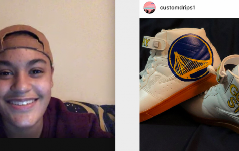 Lily runs the instragram site, @customdrips1 Follow her now and get some custom footwear.