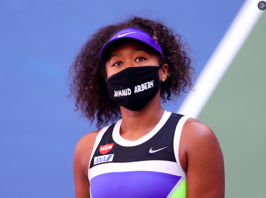 Naomi+Osaka+Uses+Platform+to+Bring+Awareness+to+Racial+Injustice+in+America