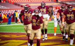 Navigation to Story: Washington Football Team Builds Momentum for Final Games