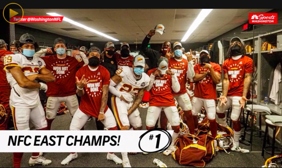 NFC+East+Champion+Washington+Football+Team%21
