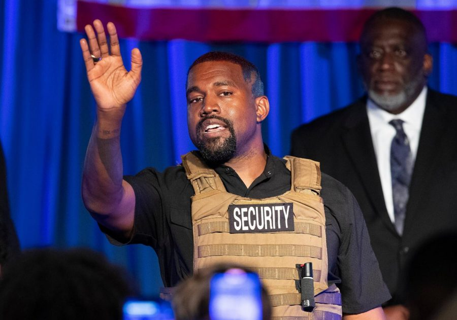 Kanye West ran for president less than six months ago, in July of 2020.