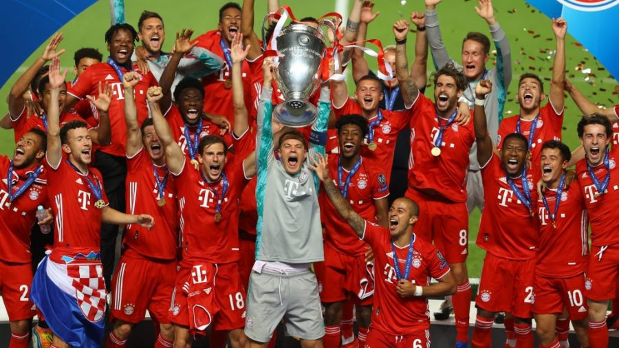 Bayern+Munich+won+its+sixth+UEFA+Champions+League+in+August+2020.