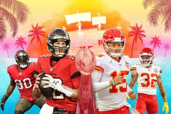 Are You Ready for Some Football? Super Bowl LV: Chiefs vs Bucs