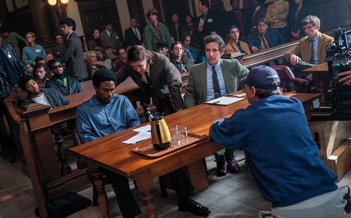 The Trial of the Chicago 7 is up for 6 Academy Awards.