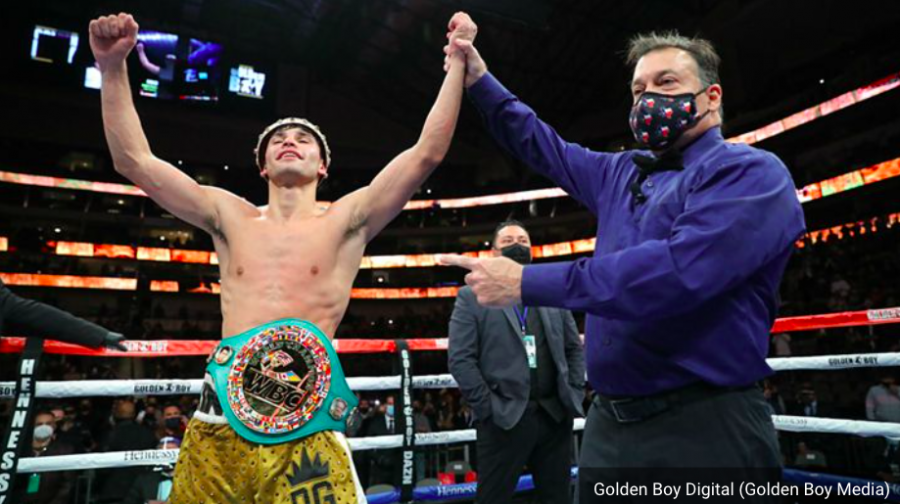 Garcias last fight.