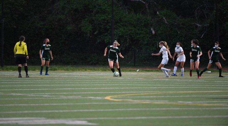 Girls Varsity Soccer Team Use Their Heads to Stay in the Game