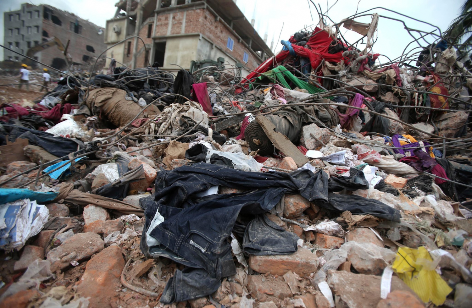 Fast Fashion is quickly polluting the planet; together we can slow it down.