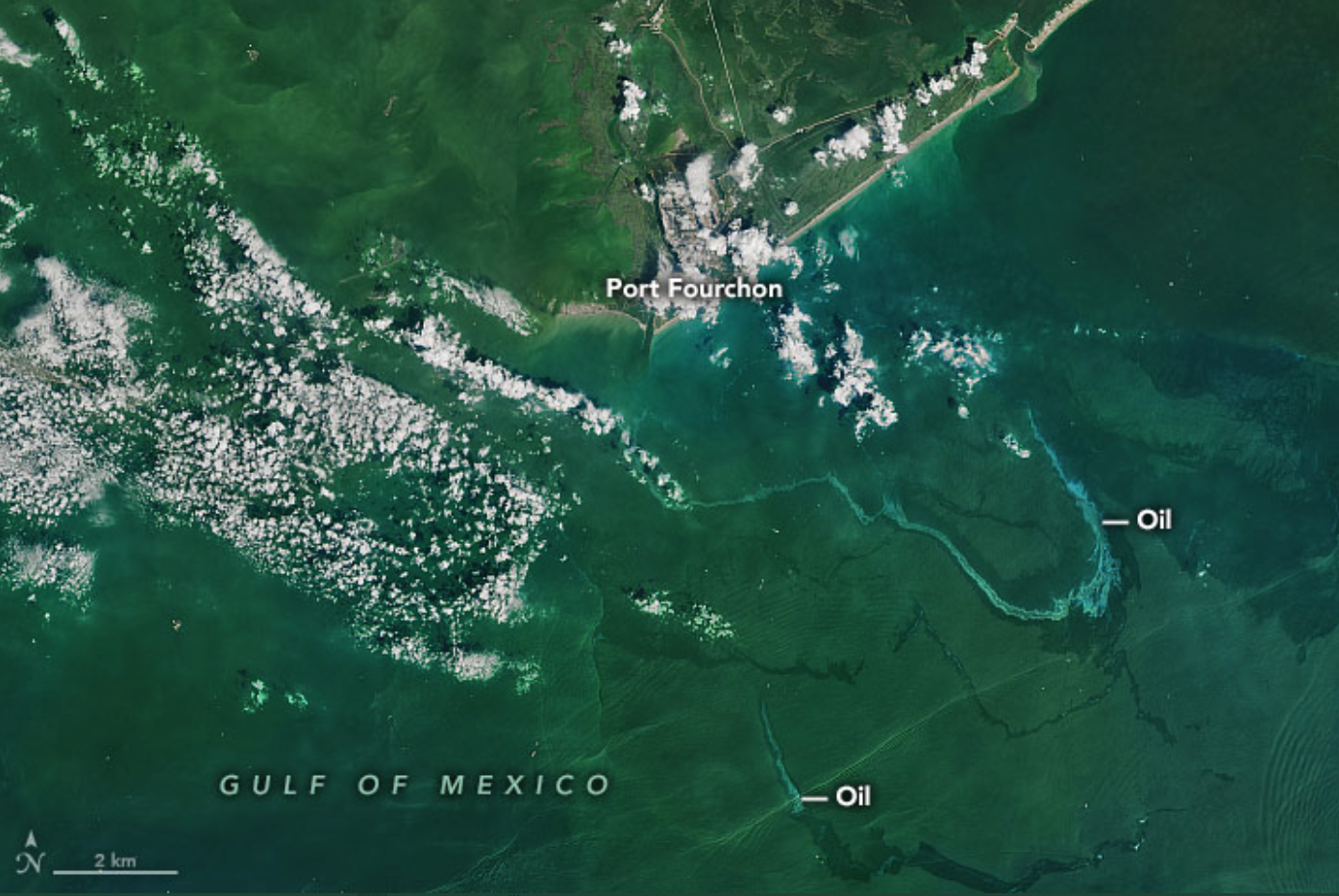 Hurricane Ida left a trail of oil. Federal and state agencies and private companies are working to find and contain leaks in the Gulf of Mexico.