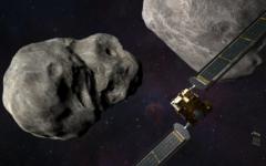 Navigation to Story: NASA Plans to Crash into an Asteroid